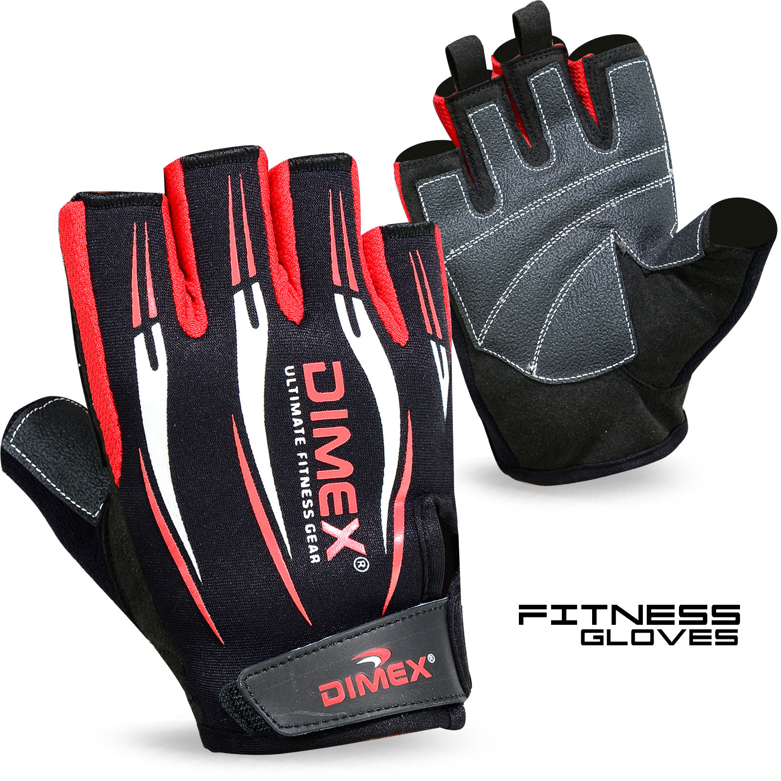 Sport Gloves Uk: Weight Lifting Gym Fitness Body Building Sports Gloves