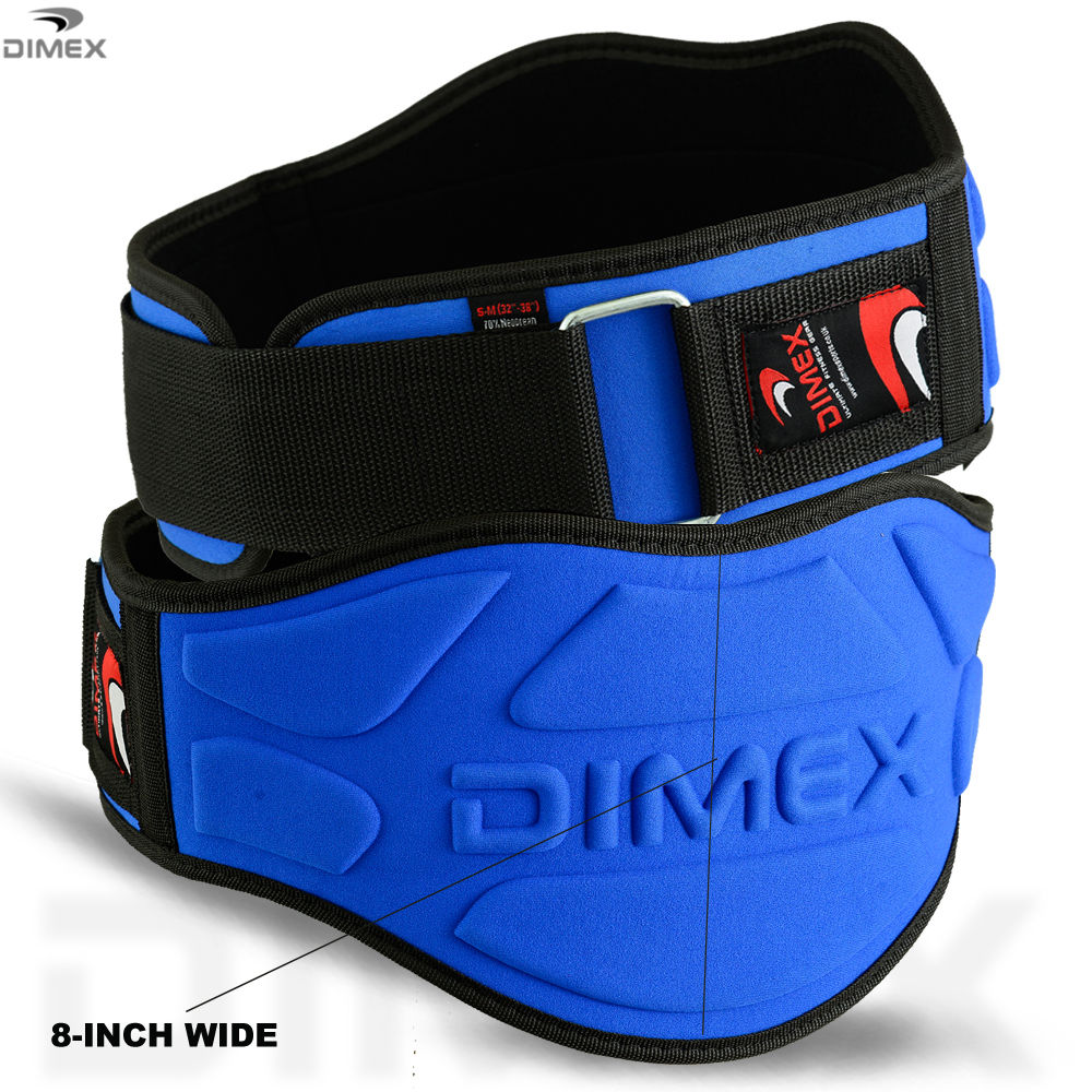 Weight Lifting Belt Fitness Gym Workout Wide Back Support Brace Neoprene SMALL